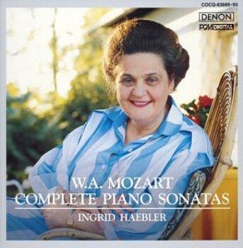 잉그리드 해블러(Ingrid Haebler) 모짜르트 피아노 소나타.