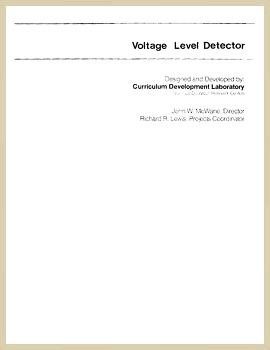 Voltage Detector