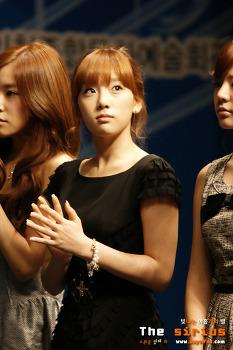 2009.10.17 문화의 달 기념식 오늘의 젋은 예술가상 대중예술부문 수상자 소녀시대