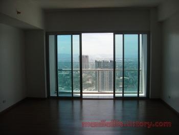 Manila Condo For Rent Ortigas Shangri-La Place ST.Francis Tower 2BR 117SQM Un Funiture 100K