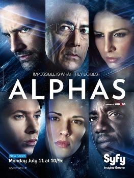 [공상과학미드추천] 초능력 공상과학 미드 추천 - Alphas(알파스)