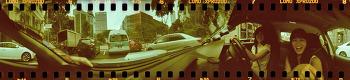 [로모 스피너] 차안에서 담은 360도 회전 셀카 +_+