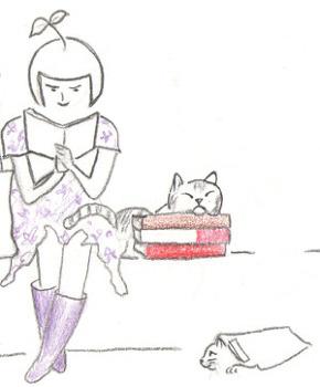책과 고양이와 신문