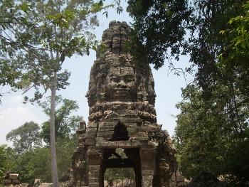 캄보디아 씨엠립 타프롬사원 설명 및 후기
