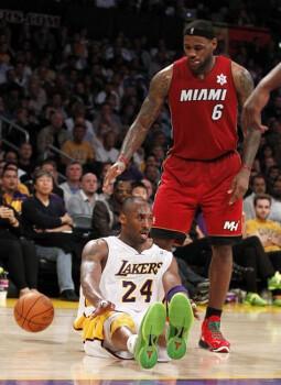 LeBron James 르브론 제임스 트리플더블 vs LA Lakers X-Mas Match [2010-12-25]