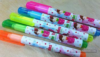 다이소 미니 형광펜 작고 저렴한 미니 형관펜