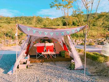 [대구 경북 칠곡 왜관 커플 캠핑장 추천] 꿈애오토캠핑장