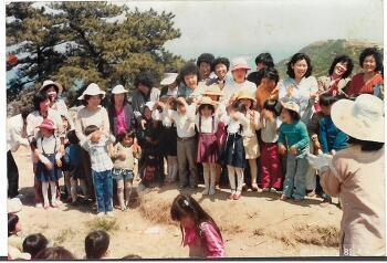 1980년대 초등(국민)학교 소풍 모습
