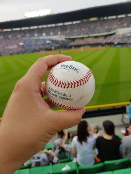 2017.07.09 - 이병규 은퇴경기, 양석환 7호홈런볼