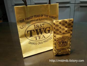 싱가폴에서 사 온 TWG tea