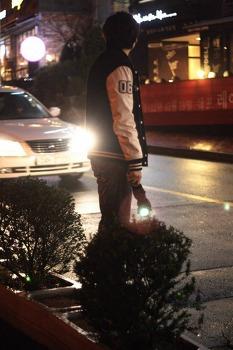 택시 기다리기