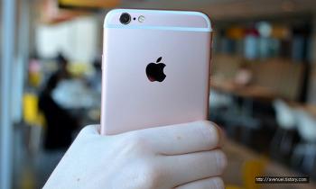 애플 아이폰6S 로즈골드 사진모음