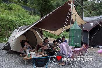 캠핑#16 - 충북 별밤캠핑장, 20년지기 친구와 함께