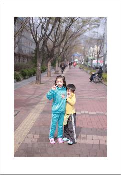 2017년 4월 8일 동생이랑 남한산성~