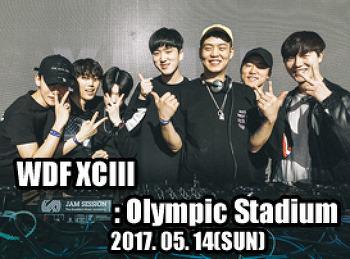 2017. 05. 14 (SUN) WDF XCIII @ Olympic Stadium