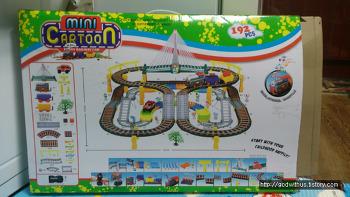 대형 기차 놀이 mini cartoon