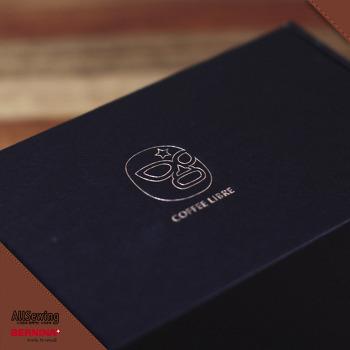 착한커피 리브레의 크리스마스 커피를 바느질 공방에서 즐기다~