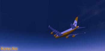 한불항공 . Paris CDG → Incheon . A380-800 . KFA814A
