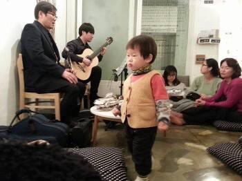 """하얀 눈이 내리던 날 밤<하우스콘서트 """"음악이 흐르는 방바닥"""">리뷰"""