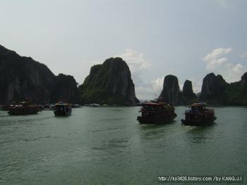 베트남 하노이 시내와 하롱베이