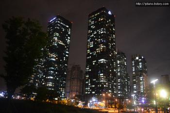 [인천 송도신도시] 송도 센트럴파크 야경 사진,출사 (니콘 D3100, Nikon D3100)