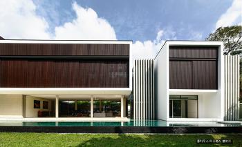별채가 아름다운 시원스러운 복층 싱가포르 펜트하우스