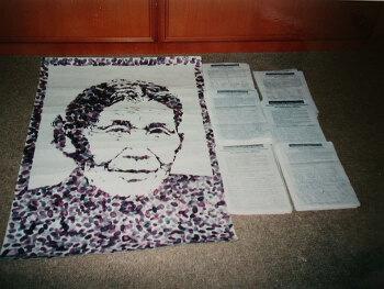 """Mahnwache und Demonstrationen zum Gedenktag für die ehemaligen """"Trostfrauen"""" des japanischen Militärsders"""