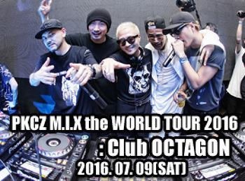 2016. 07. 09 (SAT) PKCZ M.I,X the WORLD TOUR 2016 @ OCTAGON