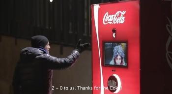 [코카콜라] 페어플레이 머신(Coca-Cola Fair Play Machines_Milan Derby)