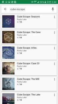 [게임/모바일] Cube Escape 시리즈 순서