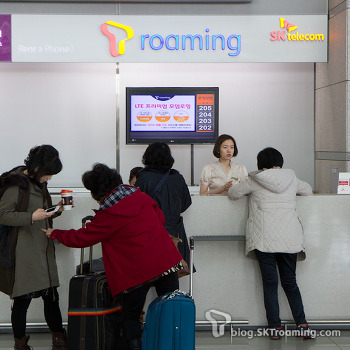 [T로밍] 인천국제공항 T로밍센터 부스 1개 확장! 다양한 서비스 편리하게 받으세요~