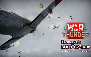 [War Thunder] Bf109G2 플레이 뮤비