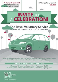 Poster for The royal voluntary service