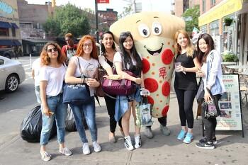 Maggie와 함께한 피자 투어!