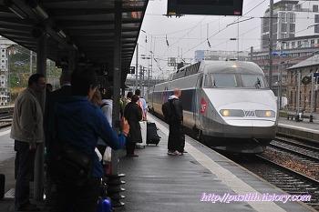 파리에서 취리히를 거쳐 루체른으로 (by  TGV & Air France)
