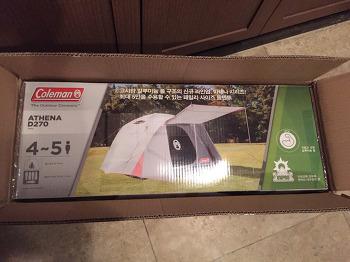 콜맨 텐트 아테나 돔 D270 여신텐트 Coleman Athena Tent
