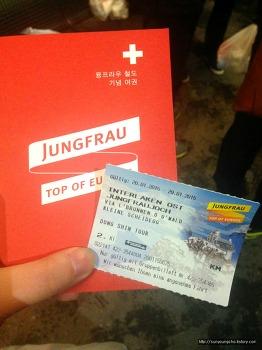 스위스 인터라켄, 융프라우 산악열차 -1
