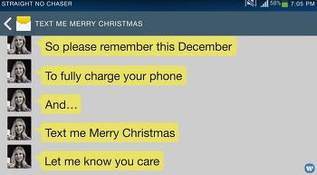 메리크리스마스 문자 줘