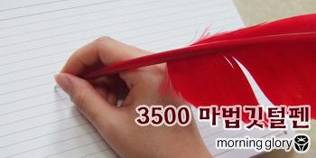모닝글로리 3500 마법깃털펜