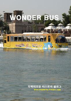 두바이 바다위를 달리는 놀라운 버스여행