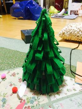 크리스마스 트리 나무만들기