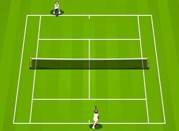 테니스게임 TENNIS GAME [플래쉬게임 Flash games]