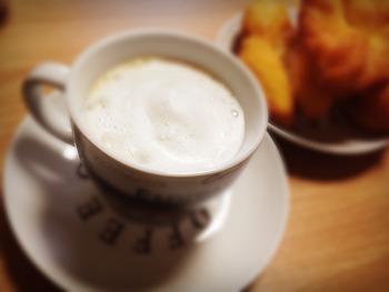 집에서 커피 한잔