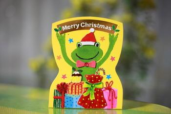 개구리 크리스마스카드/20151222