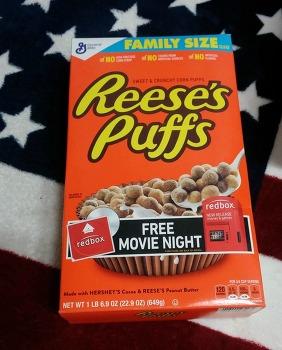 미국 가정집 선반 한가득 쟁여놓는 시리얼 Reese's Peanut Butter Puffs