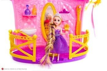 [디즈니프린세스/헤어스타일/인형머리/지네땋기] 디즈니 프린세스 라푼젤의 긴머리를 동안 헤어스타일 지네땋기로 연출하기