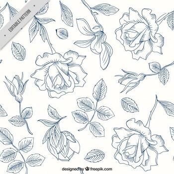꽃그림도안/꽃그림/꽃도안/그림도안/꽃 일러스트