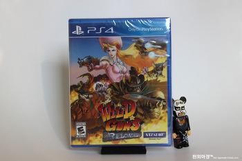 PS4 와일드건즈 리로디드 밀봉