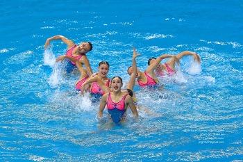 2014 인천 아시안 게임 싱크로나이즈스위밍