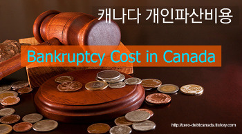 개인파산시 드는 비용은 얼마입니까? (파산비용 결정요인 4가지) What Is the Costs and Fees for Bankruptcy in Canada?